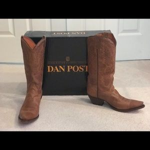 Women's Authentic Dan Post custom made boots